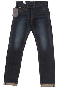Edwin SEN Black Skinny Fit Stretch Mens Selvage Denim Jeans Made In Japan