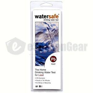 Expressif Watersafe Ws-207 Câble Kit De Test Pour Eau Potable Pb Test,usage Unique,2/2021
