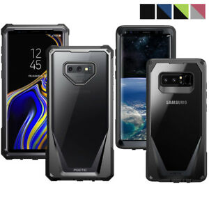 For-Galaxy-Note-8-9-Case-Poetic-034-Hybrid-Bumper-w-Built-in-Screen-Protector