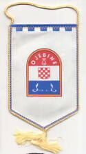 CROATIA ARMY   HV   SQUAD  OJEBINE  from  KASTELA   very rare war time  banner