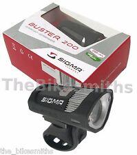 Sigma Sport Buster 200 Lumen Headlight USB Rechargeable Bike Light make an offer