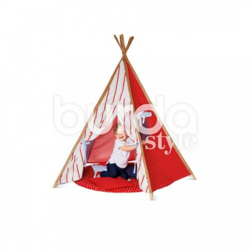 Burda-6559 Burda Childrens Easy Sewing Pattern 6559 Tipi Play Tent