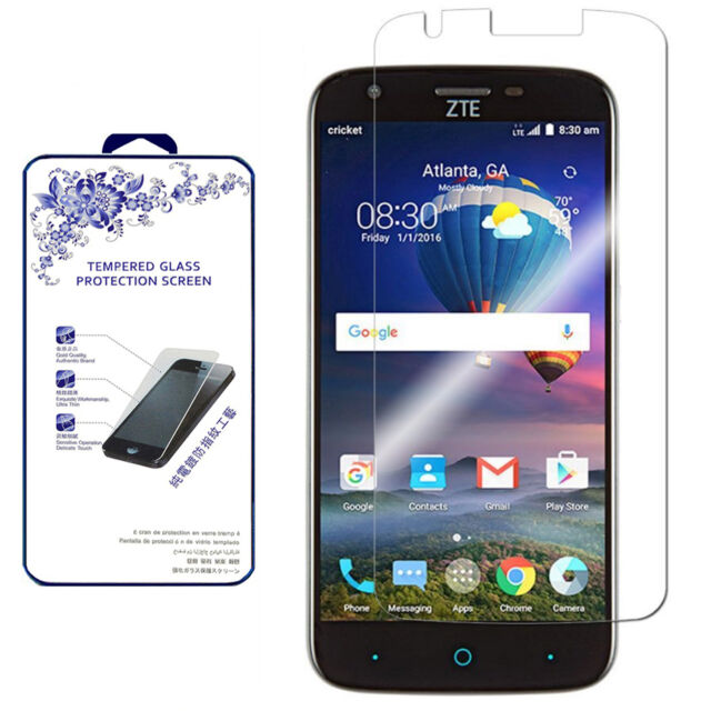 Tempered For Zte Screen Bubble Warp Glass 7 Anti-scratch Protector N9519