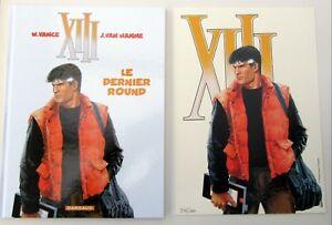 XIII-VANCE-VAN-HAMME-LE-DERNIER-ROUND-2007-EXLIB-NR-981-1000-NEUF