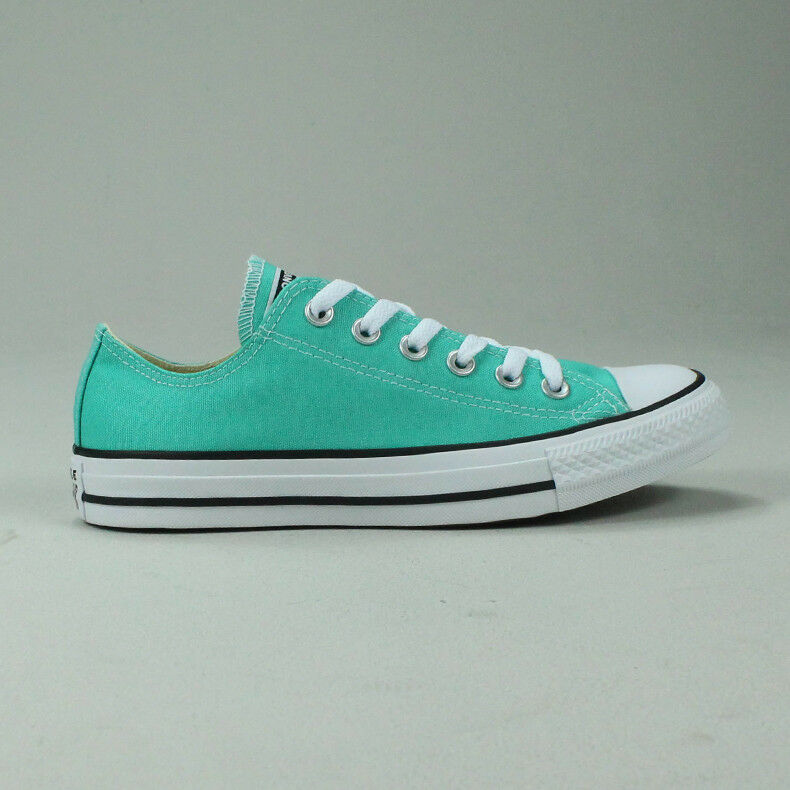 Converse All Star Ox Low shoes Trainers New in Teal Size UK size 4,5,6,7,8,9