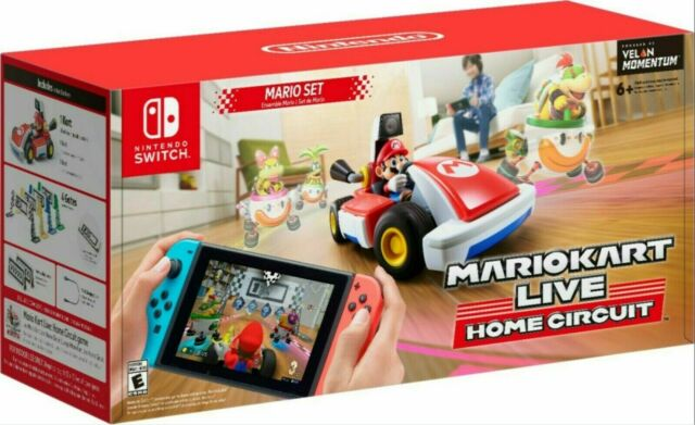 Mario Kart Live Home Circuit Mario Set Edition (Nintendo Switch) Ready to SHIP!
