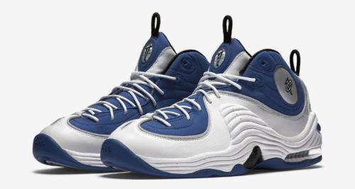 2015 Nike Nike Nike Air Penny 2 II Atlantic bluee Size 13. 333886-400 foamposite f3bfd9