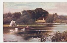 F.S. Walker, Pangbourne on Thames, Tuck 7121 Postcard, B045