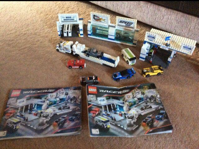 LEGO Racers Brick Street Customs Set (8154) complete