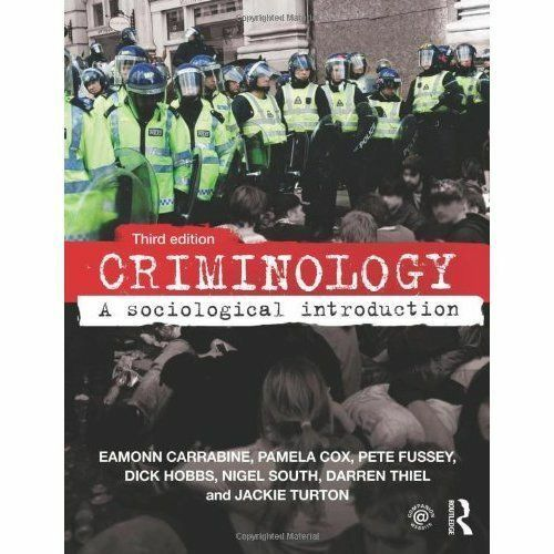 1 of 1 - Criminology: A Sociological Introduction, Good Condition Book, Turton, Jackie, T