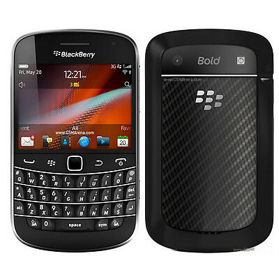 New Unlocked Original BlackBerry Bold Touch 9900 Smartphone 8GB 5MP Black