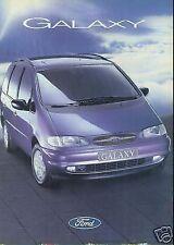 Ford Galaxy brochure  Mar 1995