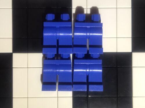 Joblot Lego Plain Blue Minifigure Legs x 4 Bulk Bundle Spare Parts