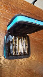 Hohner Br4p Pack 4 Blues Rocker Harmonicas Clés De A, C, D, G En Bleu Case-afficher Le Titre D'origine Rc7ezjdw-07180555-127215234