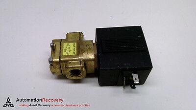 "SMC VX3344-03T-5DS1-B 3-Way Media Solenoid Valve 3//8/"" NPT 24VDC Air Water"