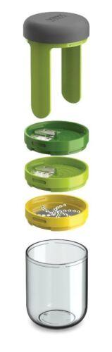 Green Joseph Joseph 20105 Spiro 3 Blade Spiralizer Vegetable Pasta Grater