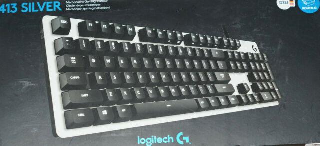 Logitech G413 Silver Mechanische Gaming- Tastatur Leertaste funktioniert nur ein