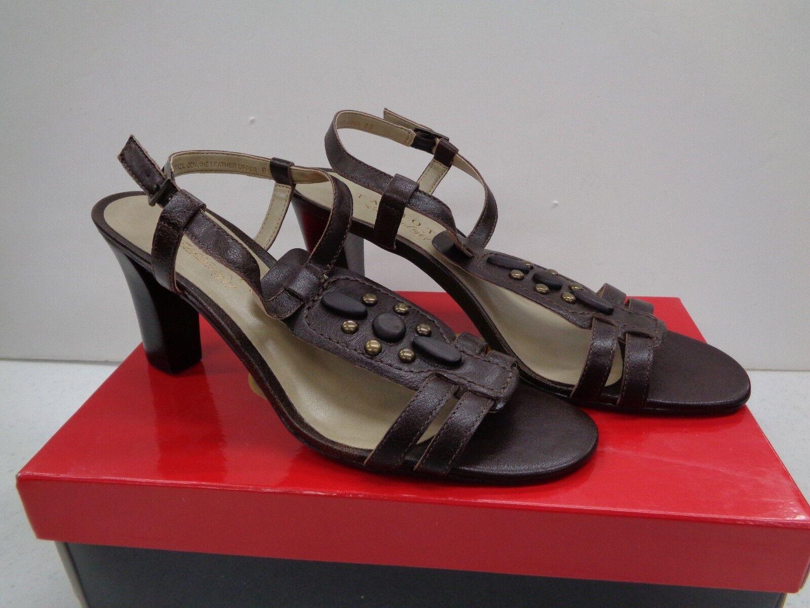 Talbots Ravis Bittersweet Heels scarpe NEVER WORN 8M BRAND NEW IN BOX Retail 129