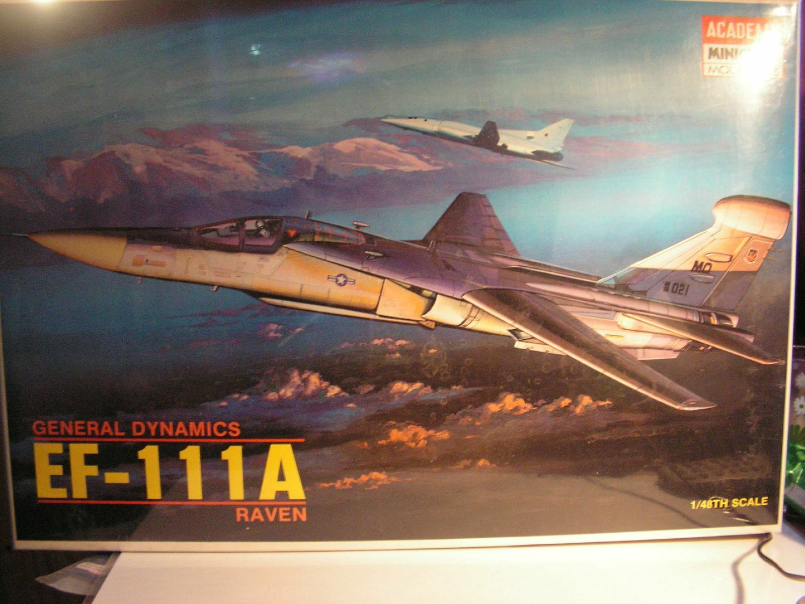 1 48 General Dynamics ef-111a raven academy model kits model usaf