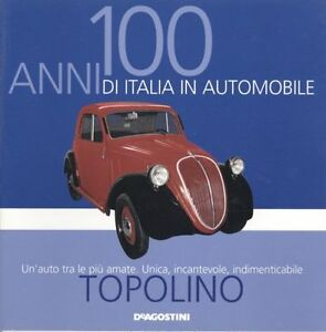 Booklet-FIAT-TOPOLINO-500A-rare-30-PAGES