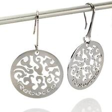 New Rebecca Filigree Fleur-de-Lis Earrings