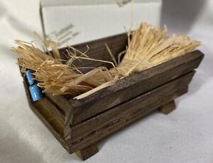Fontanini-Nativity-Trough-w-Hay-94732-For-5-034-or-7-5-034-Nativity-IN-BOX