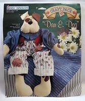 Daisy Kingdom Doll Kit Fabric Panel Dan E Dog 18 Nip Sewing