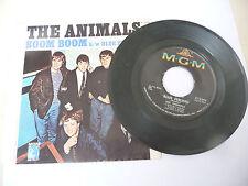 "THE ANIMALS"" BOOM BOOM-disco 45 giri MGM Usa 1966"""