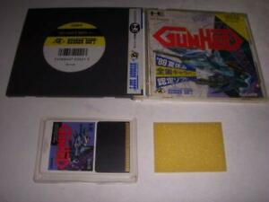 Gunhed-PC-Engine-w-Case-Hudson-NEC-Core-Japan-Game-Vintage-F-S