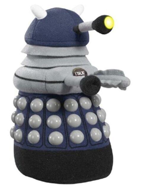 Underground Toys Doctor Who Talking Light-Up Dark Blue Dalek 9-Inch Plush B-MOVI-554