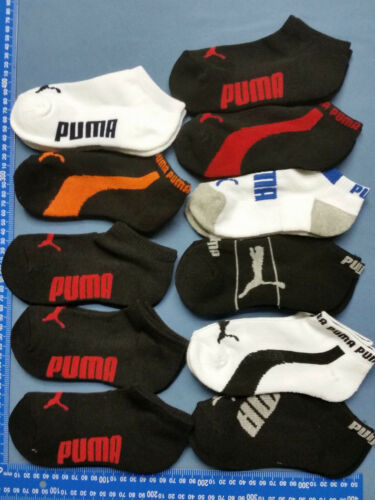 20 pairs Kids GIRLS BOYS WOMEN/'S MEN/'S Puma bonds Cotton SOCKS Mixed Color BULK