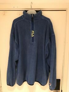 Fila 4 Zip Blue Fleece 3 Up rwqrCE8