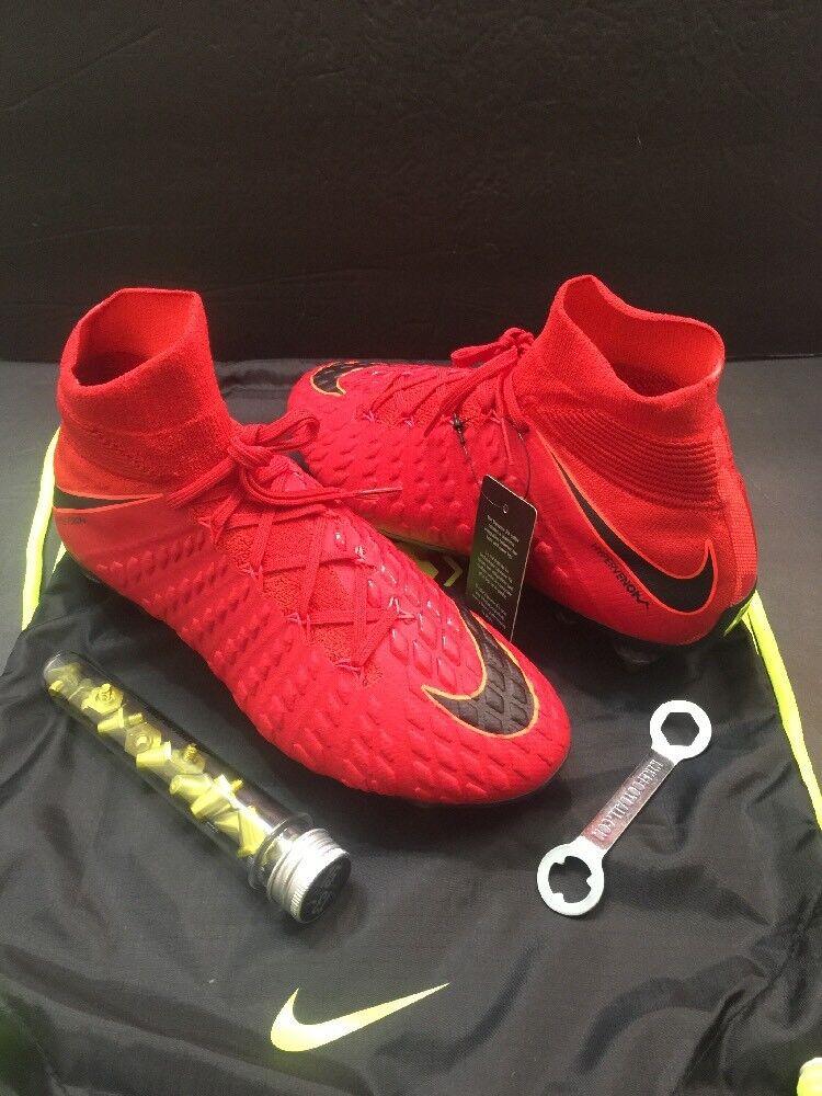 Nike hypervenom phntm 3 df sgpro ac - 899982 616] fantasma sg scarpini da calcio sz 7