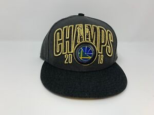 Golden State Warrior's NBA Finals Champs New Era 9Fifty 2018 Snap Back Hat