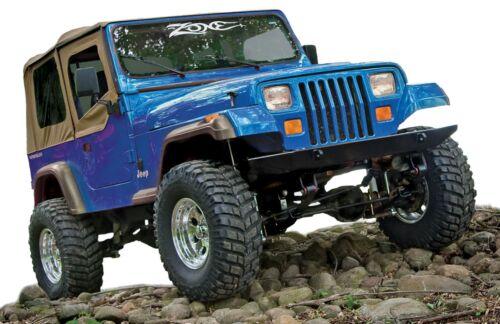 "Zone Offroad J28N 4/"" Full Suspension Lift Kit for 1987-1995 Jeep Wrangler YJ"