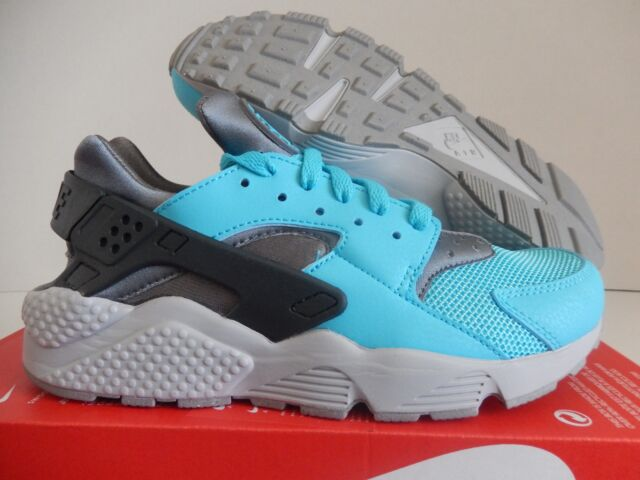 75d6bc983ea8 Nike Air Huarache Blue Grey Mens Running Shoes Trainers SNEAKERS NSW ...