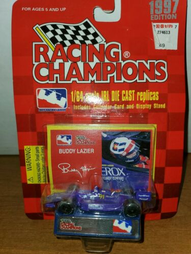 1997 Racing Champions Buddy Lazier Delta  Indy F1 Car 1//64 Limited Diecast