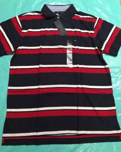 NWT Tommy Hilfiger mens short sleeve polo shirt size smlxl