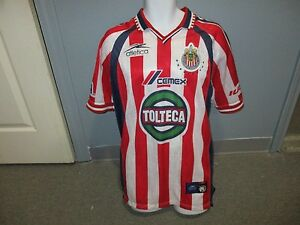 huge discount 36806 dcd74 Details about club deportivo guadalajara chivas atletica jersey X-LARGE 2000