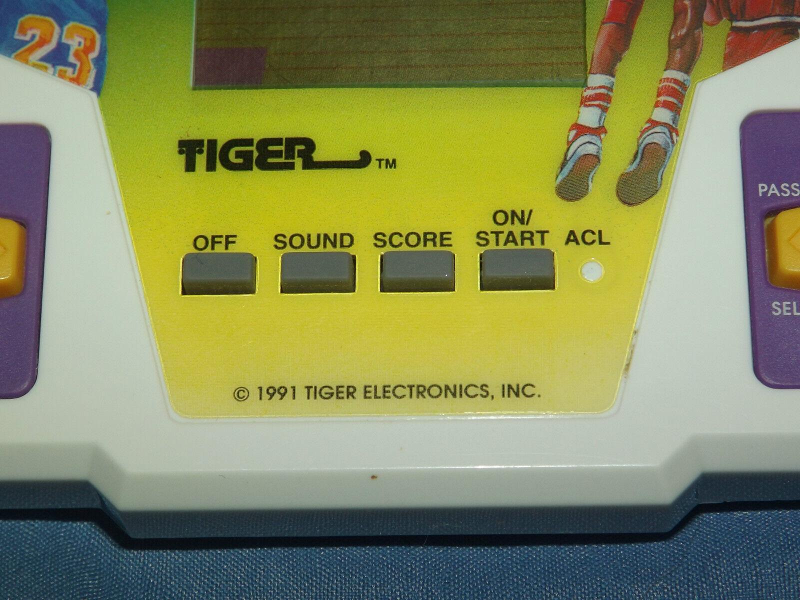 Jahrgang 1991 tiger elektronische alle pro - - - basketball - video - spiel statt a1a8cf
