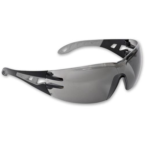 5 x UVEX Pheos 9192-285 Safety Spectacles Glasses - GREY