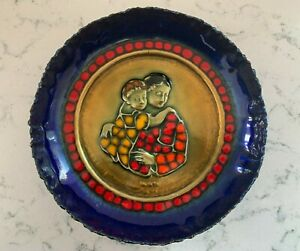 CARLO MONTI MOTHER'S DAY PLATE 1973 # 946 OF 2000 Vintage