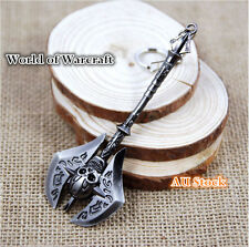 World of Warcraft Cataclysm Game Keyring Accessories Character Weapon Figures 13