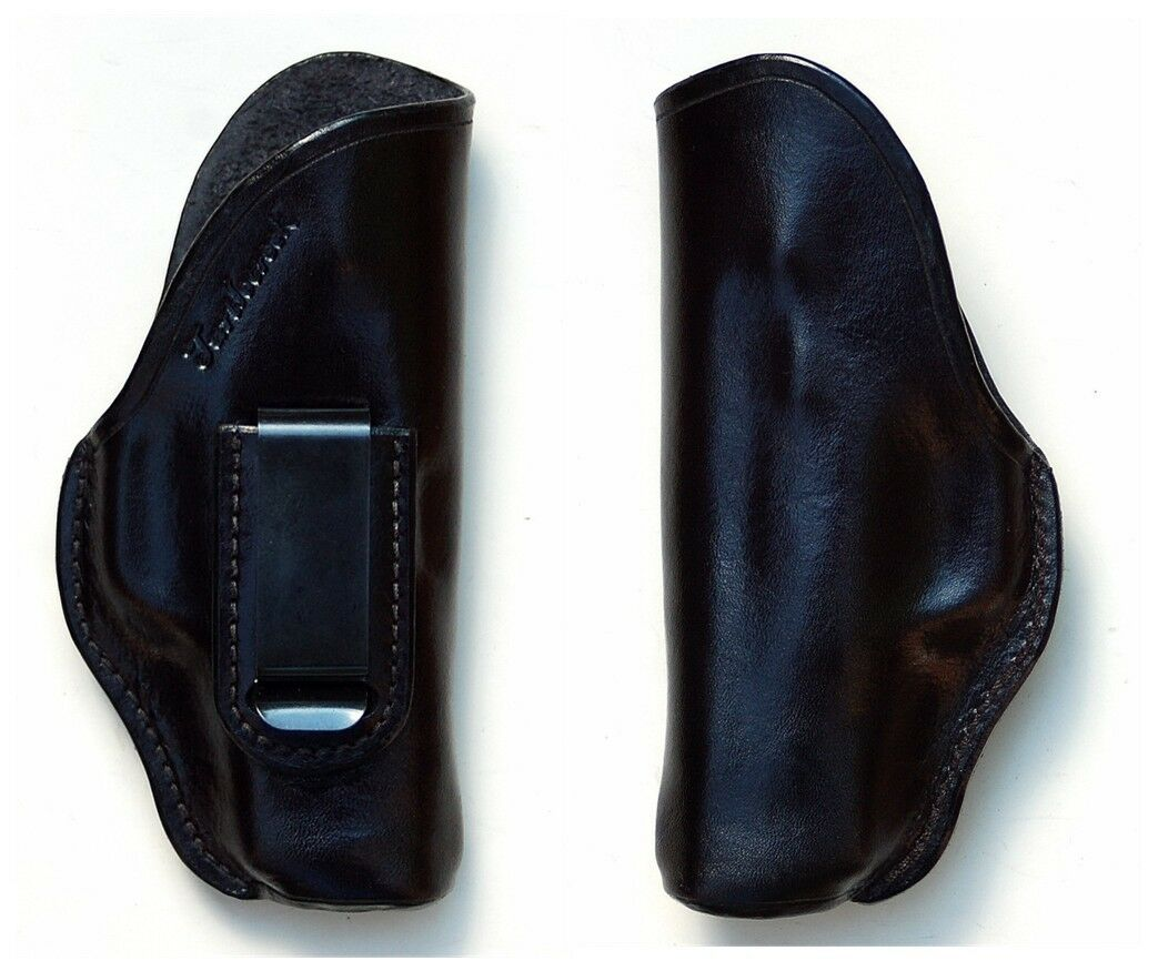 Turtlecreek Leder IWB Holster S&W M&P Shield 380 EZ - Right Hand Fixed Clip