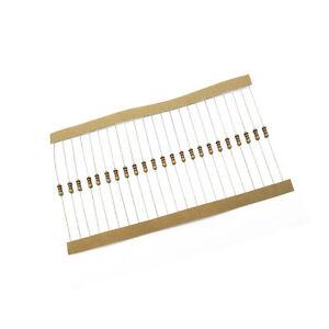 200PCS 270Ω 270 Ohm 1//4W 0.25W 1/% accuracy Metal Film Resistors
