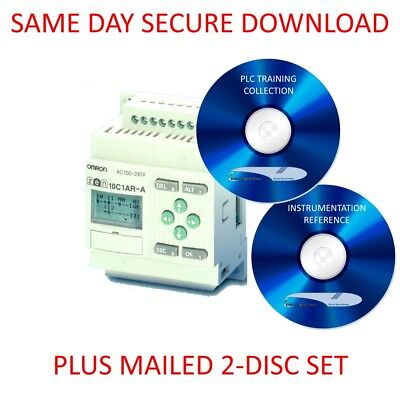 Mitsubishi PLC Training Course with System Manuals /& SOFTWARE TRAINER