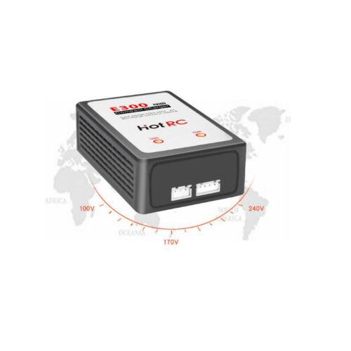 HotRc E300 Pro 13W 7.4v 11.1v 2s 3s Cells Lipo Battery Charger