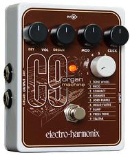 EHX Electro Harmonix C9 Organ Pedal, (UK PSU), Free Global Ship