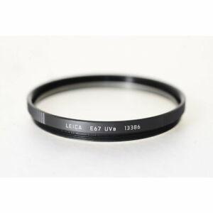 Leica 13386 67mm UVa-Filter / Leitz UVa Filter E-67 / Haze-Filter ES67