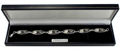 Sterling Silver Charles Rennie Mackintosh Bracelet /& Gift Box